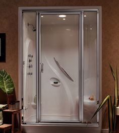Inexpensive And Durable   Plastic Shower Doors | De Lune.com