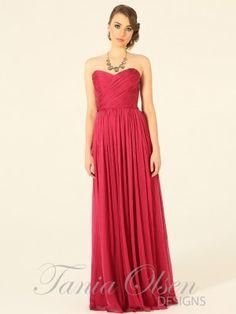 Amelia Raspberry Evening Dress by Tania Olsen designs. #formal #pink #raspberry Buy at Sentani.com.au