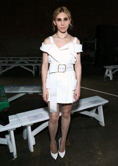 Zosia Mamet à la Fashion Week de New York