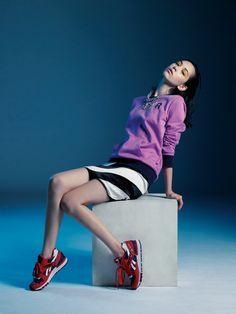 【画像 8/14】水原希子 リーボッククラシック新アンバサダーに就任しシューズをデザイン | Fashionsnap.com