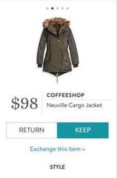 Coffeeshop Neuville Cargo Jacket...on it's way!