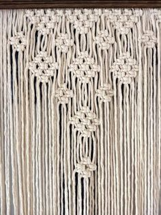 Extra Large Reversable Macramé Wall
