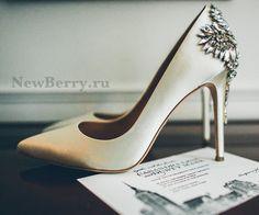 Красивые свадебные туфли - 25 модных пар, часть 2