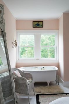 Farrow & Ball Craftsmen in Paint and Paper Pink Paint Colors, Home, Best Interior Paint, Paint Colors, Pink Paint, Farrow And Ball Paint, Pink Chest Of Drawers, Japanese Bathroom Design, Bathroom Design
