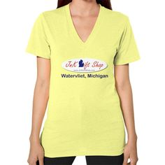 V-Neck (on woman) - JnK Gift Shop