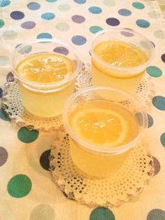 すっきり爽やか☆はちみつレモンゼリー by オレンジリング [クックパッド] 簡単おいしいみんなのレシピが256万品