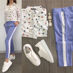 (notitle) – Sara Abbas – Join in the world of pin Fashion Wear, Teen Fashion, Korean Fashion, Fashion Outfits, Womens Fashion, Chic Outfits, Trendy Outfits, Summer Outfits, Look Blazer