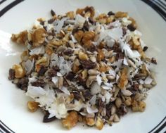 Sugar Free Breakast Cereal from The Natural Nutritionist