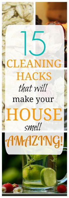 Cleaning Jewelry 15 Cleaning Hacks that Will Make Your House Smell Amazing - Keep your home smelling clean and fresh using safe and environment-friendly ingredients, such as vanilla extract, essential oils, lemon peel, and so on. House Cleaning Tips, Deep Cleaning, Spring Cleaning, Cleaning Hacks, Cleaning Recipes, House Smell Good, House Smells, Casa Clean, Clean House
