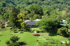 Montego Bay villa rental - Aerial View of Pimento Hill and its Grounds