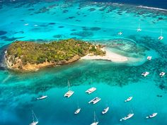 The Tobago Cays, St. Vincent and the Grenadines