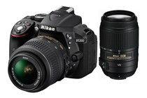 Nikon D5300 DSLR Camera 18-55mm & 55-300mm Twin VR Lens Kit (Black). Get wonderful discounts up to 80% at Kogan using Coupon and Promo Codes.