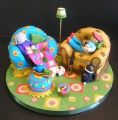 Mother & Son Cake