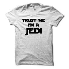 Funny Trust Me I'm A Jedi Star Wars T-Shirt by HG Apparel