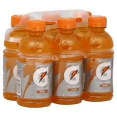 Orange Gatorade- perfect for a basketball themed party!