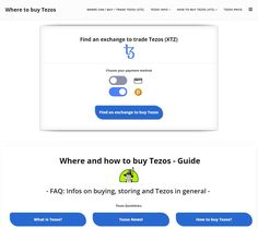 Where to buy Tezos Coin Prices, Cryptocurrency News, Crypto Currencies, Blockchain, Investing, How To Get, Ads
