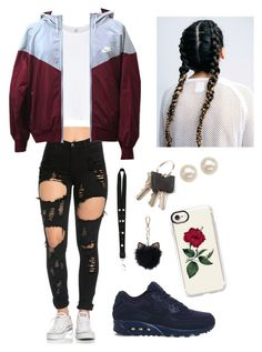 """""""Untitled #108"""" by asosa20 on Polyvore featuring NIKE, Givenchy, LC Lauren Conrad, RE/DONE, Honora and Casetify"""