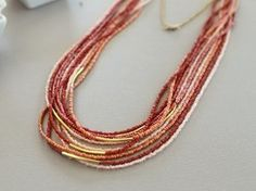 Favorite Seed Bead Necklace | AllFreeJewelryMaking.com
