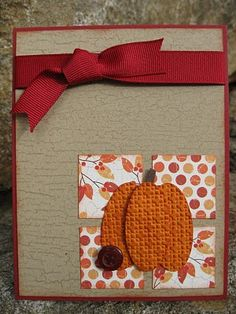 Embossed Pumpkin