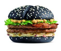 McDonald's Black & White Burger | #mcdonalds #china #hongkong #taiwan