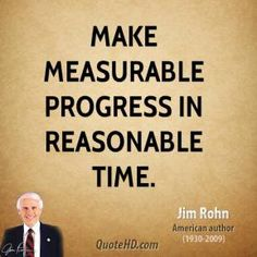 Progressive Quotes Measurable Progress In Reasonable Timequotes On Progress .
