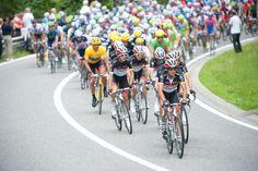 2012 Tour de France, stage 1 - Yaroslav Popvych  Popovych on the front for Radio Shack is a familiar site. Photo: Casey B. Gibson | www.cbgphoto.com