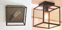 Traditional Lighting   Traditionelle & klassische Lampen & Leuchten - Plafonnier Square & Lantern