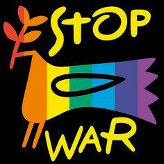 Peace dove - stop war