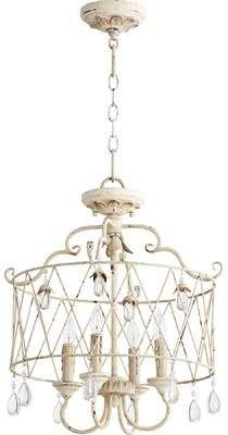 Hey Look What I found at Lighting New York Quorum Venice 4 Light 18 inch Persian White Dual Mount Ceiling Light French Country Lighting, Farmhouse Lighting, Rustic Lighting, French Country Decorating, Modern Lighting, Drum Pendant, Drum Chandelier, Pendant Lighting, Chandeliers