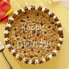 easy cookie cake- I love making them!