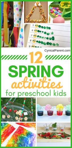 12 Super Fun and Engaging Spring Activities for Preschool Kids – Cynical Parent – Sewickley Academy – art therapy activities Preschool Activities At Home, Pre K Activities, Art Therapy Activities, Toddler Preschool, Childcare Activities, Kid Activites, Preschool Garden, Preschool Projects, Nature Activities