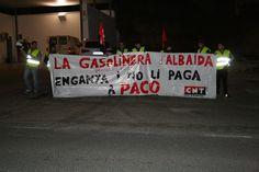 DIARIO DIGITAL D'ONTINYENT: Cinquena concentració de CNT davant la Gasolinera ...