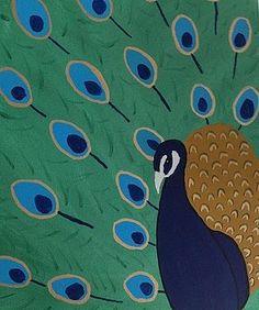 Peacock by Morgan McLaren