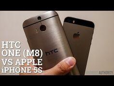 ▶ HTC One (M8) vs Apple iPhone 5s - Quick Look - YouTube