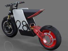 Powerful Supermoto | Yanko Design