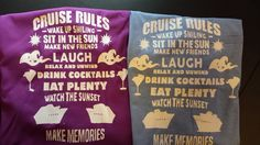 Cruise shirts