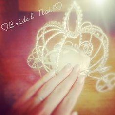 Bridal nail♡