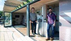 George Clarke's Amazing Spaces: a floating home made from shipping container puts houseboat living in the spotlight   Property news   Homes and Property  Did you know Valhalla is building and off grid school?! www.valhallamovement.com/slc