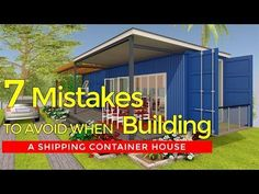 Top 7 Common Mistakes to Avoid Before Building a Shipping Container House - YouTube