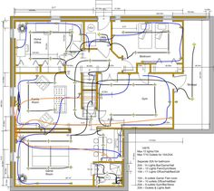 Electrical symbols are used on home electrical wiring plans in order ...