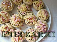 Donia, Polish Recipes, Party Snacks, Food Design, Tapas, Catering, Food And Drink, Appetizers, Cooking Recipes