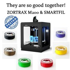 Something we liked from Instagram! Did you know that Smartfil ABS filament works very well with Zortrax M200? Get yours from our online store and experience the highest quality of printing! Special price for 3 or more spools now!  #filament #3dfilament #abs #pla #bestquality #3dprinters #3d #3dprintersonlinestore #3dprinter #highquality #amazoncom #onlineshopping #compraonline #tiendaonline #happysunday #design #modelling  #architecture #prototype #amazon #zortrax #zortraxm200 #tested…
