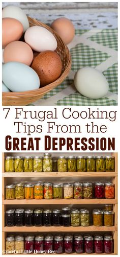 Check out this list of Frugal Cooking Tips From the Great Depression for some ol. - Check out this list of Frugal Cooking Tips From the Great Depression for some old-fashioned money s - Old Recipes, Vintage Recipes, Healthy Recipes, Vintage Ideas, Lunch Recipes, Healthy Food, Frugal Living Tips, Frugal Tips, Depression Era Recipes
