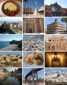 Las Maravillas de Almeria, Cabo de Gata, la estación de ferrocaril, el desierto de tabernas, la Alcazaba..