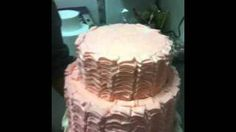 How to: Ruffle Icing on Cakes, via YouTube.