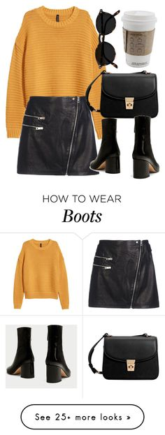 """Untitled #7151"" by laurenmboot on Polyvore featuring rag & bone and MANGO"