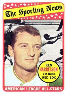 1969 Topps #417 Ken Harrelson Front