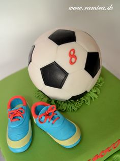 how to soccer cake by Ramira