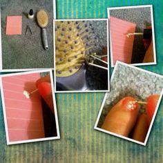 Wow good idea for free nail art tool!