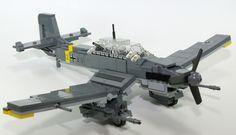 LEGO German Plane